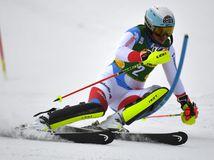 SR Slovensko Lyžovanie SP slalom ženy 1. kolo ZAX
