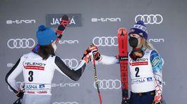 Slovakia Alpine Skiing World Cup vlhová shiffrinová