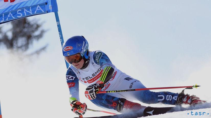 SR Slovensko Lyžovanie SP obrovský slalom Shiffrin
