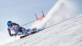 SR Slovensko Lyžovanie SP obrovský slalom vlhová