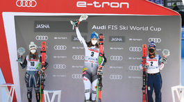 SR Slovensko Lyžovanie SP obrovský slalom ženy 2. kolo ZAX
