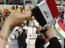 pápež, irak