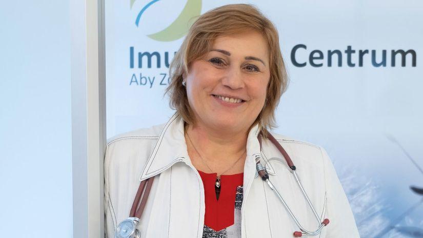 Katarína Bergendiová, doktorka, imunológia,...