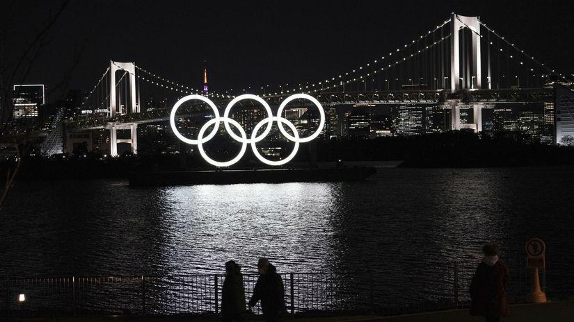 Olympiáda, ilustračná, Tokio
