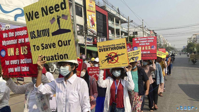 Mjanmarsko prevrat