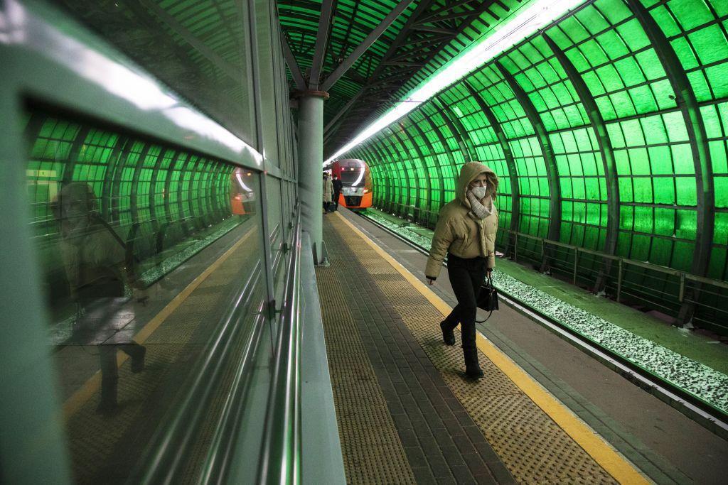 Rusko, metro, vlak
