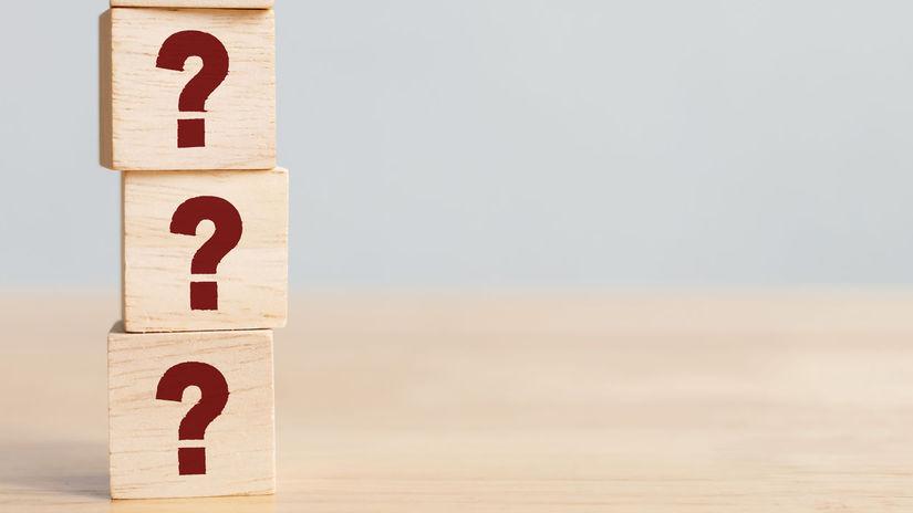 kocky, otáznik, otázniky, otázky