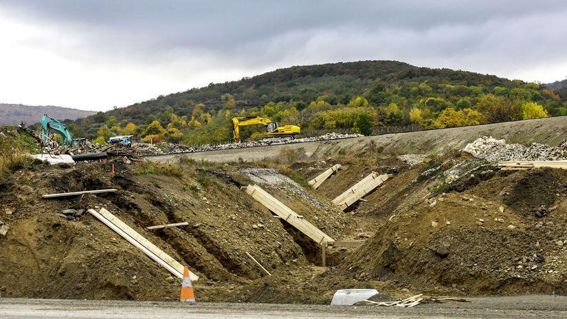 D4R7 Ivanka sever Rača diaľnica výstavba BAX