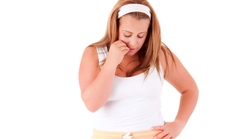 nadváha, obezita, žena, hanba, rozpaky
