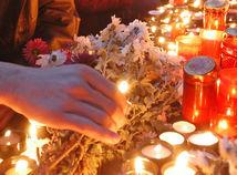 smútok, úmrtie, Dušičky, smrť, sviečky, pieta