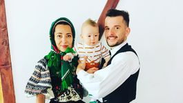Stec s rodinou