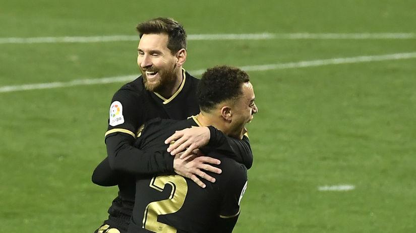 Lionel Messi, Sergino Dest