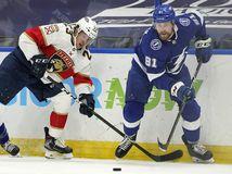 Panthers Lightning Hockey černák