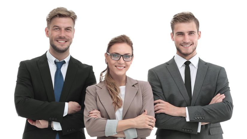 právnici, kolegovia, úsmev, tím