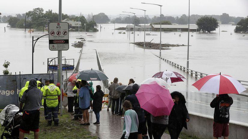 záplavy, austrália