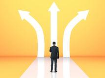 muž, križovatka, rozmýšľanie, zamestnanie, práca, škola, rozhodnutie