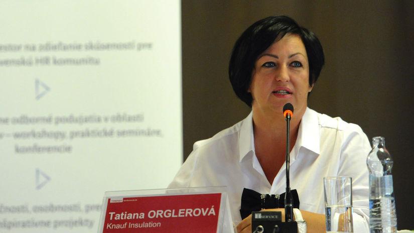 Tatiana Orglerová, Knauf, HRcomm