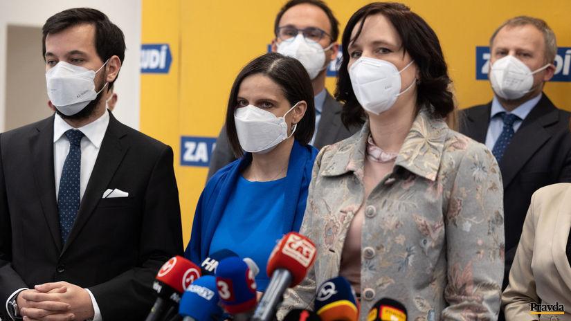 TB Za ľudí Remišová Kolíková Šeliga