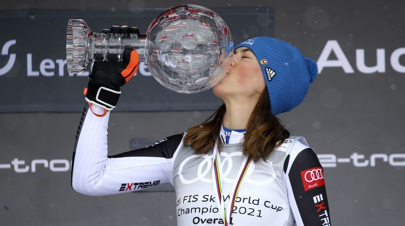 APTOPIX Switzerland Alpine Skiing World Cup vlhová