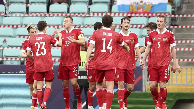 Rusko šport futbal MS2022 kval. H Slovinsko