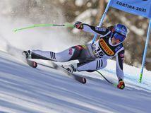 Taliansko Alpské Lyžovanie MS Super G Ženy Vlhová