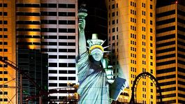 Socha slobody v Las Vegas