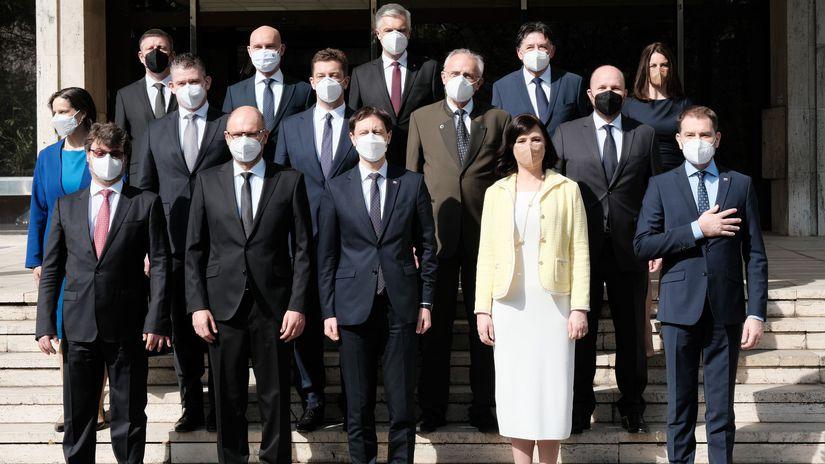 Vláda  Eduarda Hegera