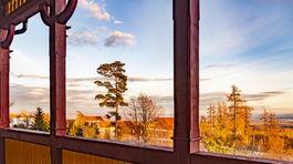 Sanatórium Dr. Guhra, balkón