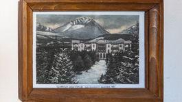 Sanatórium Dr. Guhra, historické foto, Tatranská Polianka