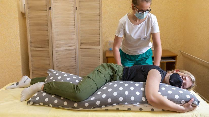 Sanatórium Dr. Guhra, respiračná fyzioterapia