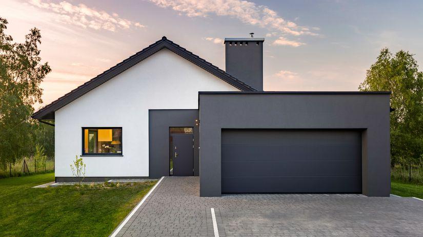 dom, rodinný dom, garáž