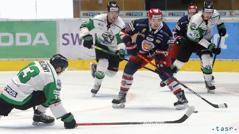 SR Zvolen šport hokej TEL play off 1/4 1 Nové...