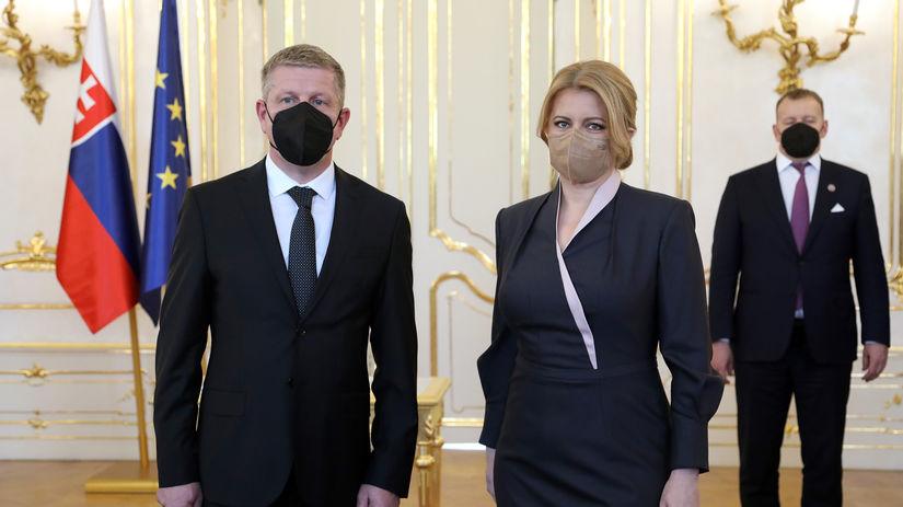 vlada Eduarda Hegera, Zuzana Čaputová, Vladimír...