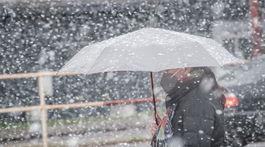 Bláznivý apríl, zasnežené počasie