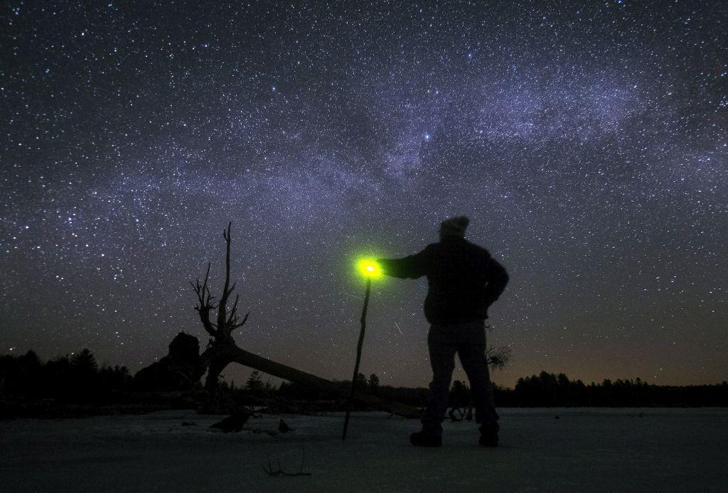 Kanada, Mliečna cesta