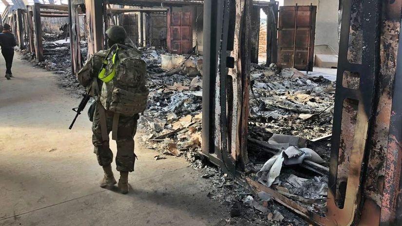 Irak USA základňa rakety zranení