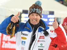 Rakúsko SR nočný slalom ženy SP 2. kolo Magoni