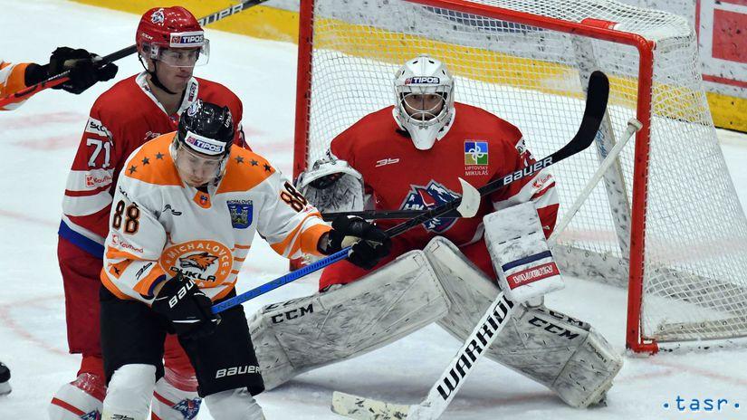 SR Hokej Extraliga 9. kolo Michalovce Liptovský...
