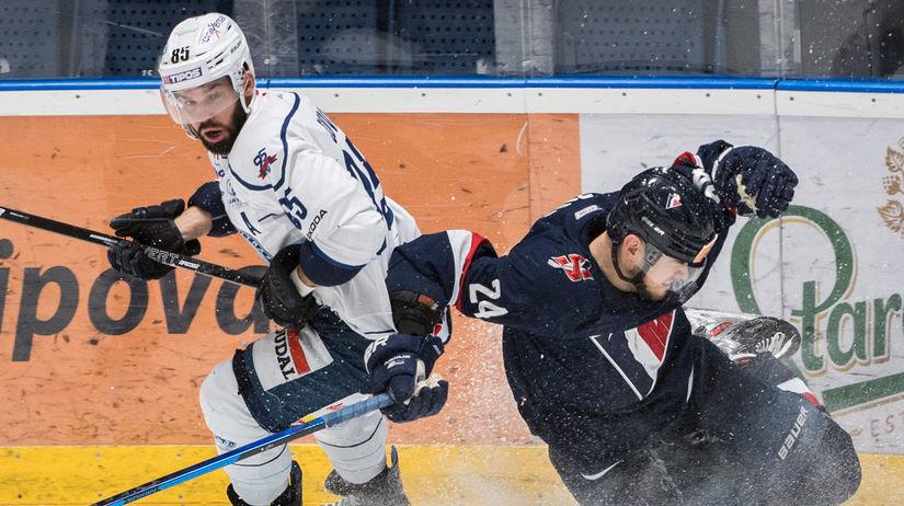 SR Hokej TEL 1/4 play off Slovan Nitra Slovák