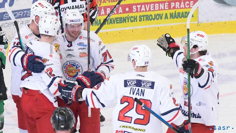 SR Hokej TEL štvrťfinále 4 Nové Zámky Zvolen NRX