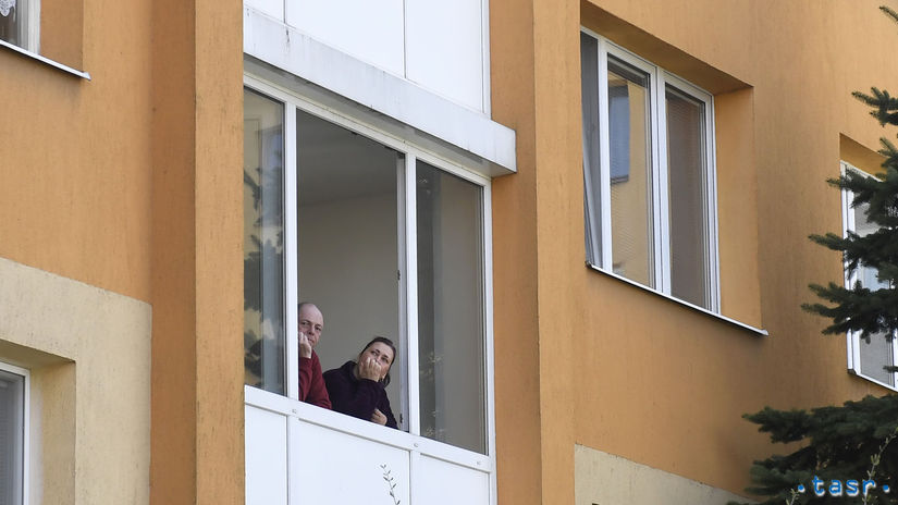 balkón košice koronavírus
