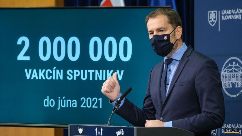 Igor Matovič, Sputnik V,