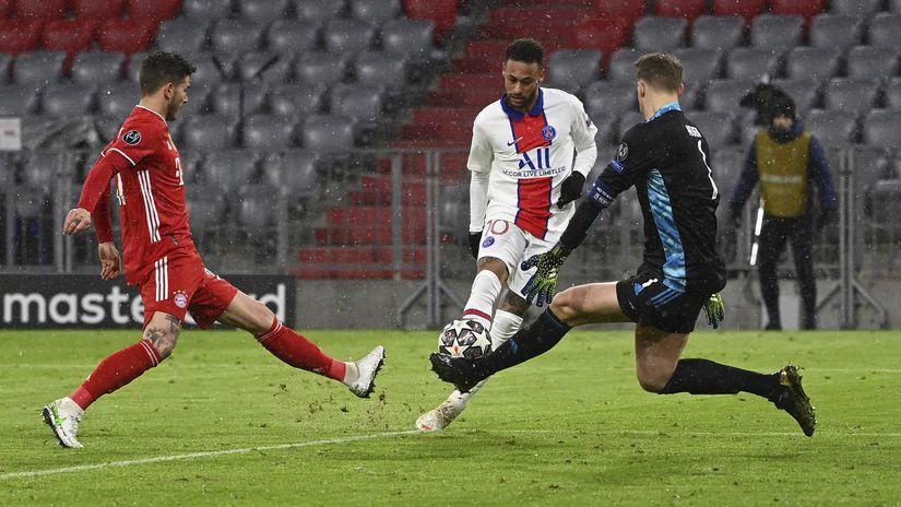 Nemecko Futbal LM 1/4 Bayern PSG