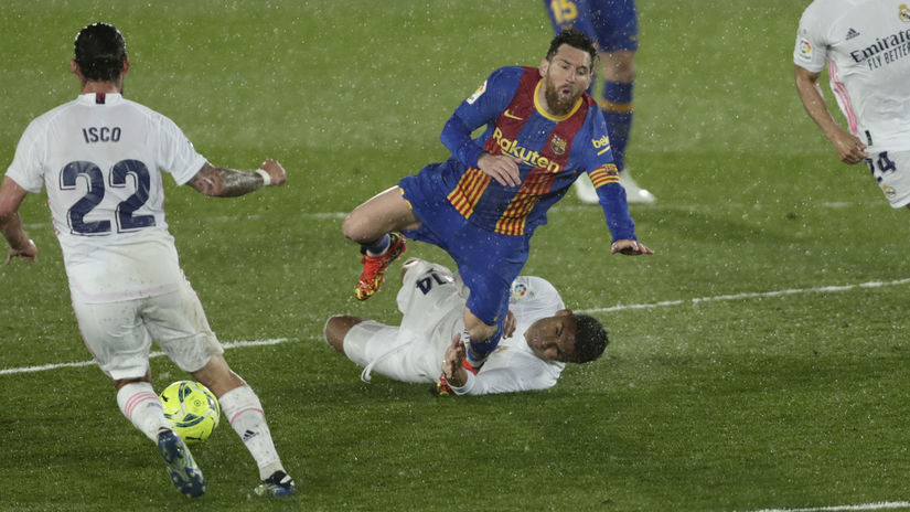 Casemiro, Lionel Messi