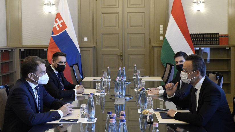 Maďarsko SR Matovič Szijjártó vakcína Sputnik