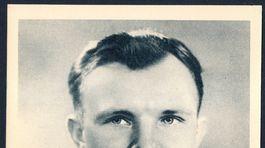 Jurij Gagarin, pohľadnica