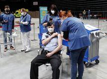 ČR koronavírus očkovacie centrum skúška