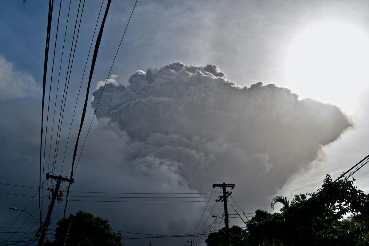 St. Vincent, sopka