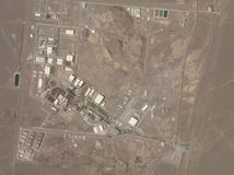 Irán / Jadrový program / Natanz /