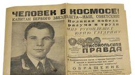 Komsomolskaja Pravda, titulná strana, Jurij Gagarin